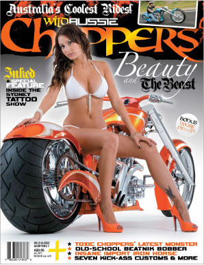Wild Aussie Choppers Cover