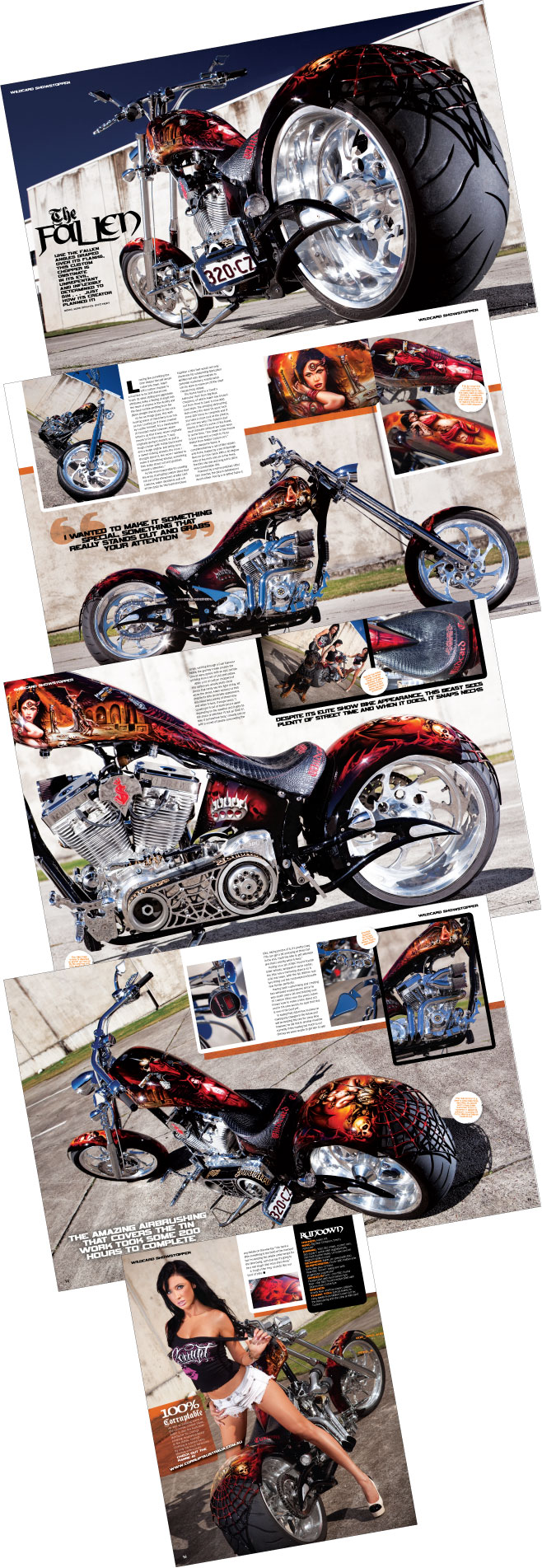 Wild Aussie Choppers Article